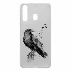 Чохол для Samsung A60 A pack of ravens