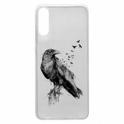 Чохол для Samsung A70 A pack of ravens
