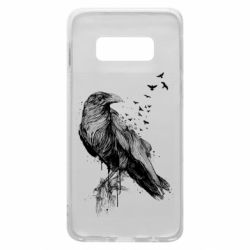 Чохол для Samsung S10e A pack of ravens
