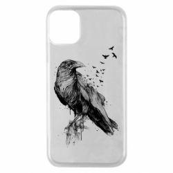 Чохол для iPhone 11 Pro A pack of ravens