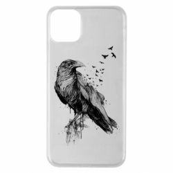 Чохол для iPhone 11 Pro Max A pack of ravens