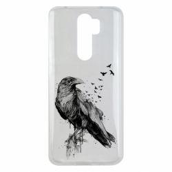 Чохол для Xiaomi Redmi Note 8 Pro A pack of ravens
