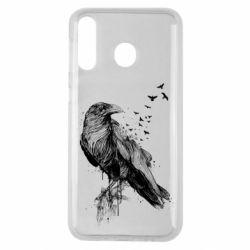 Чохол для Samsung M30 A pack of ravens