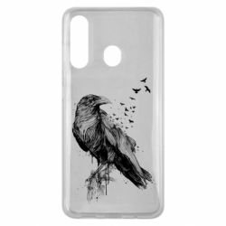 Чохол для Samsung M40 A pack of ravens