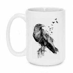 Кружка 420ml A pack of ravens