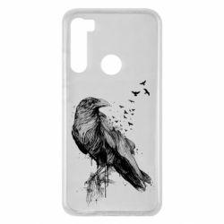 Чохол для Xiaomi Redmi Note 8 A pack of ravens