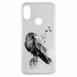 Чохол для Xiaomi Redmi Note 7 A pack of ravens