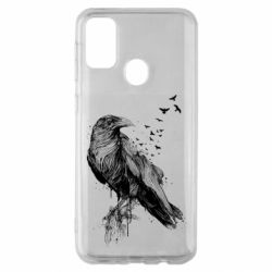 Чохол для Samsung M30s A pack of ravens