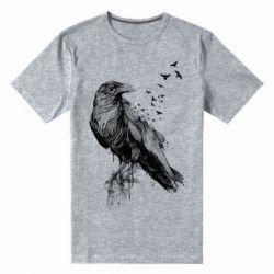 Чоловіча стрейчева футболка A pack of ravens