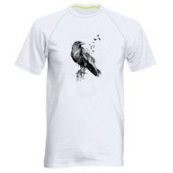 Чоловіча спортивна футболка A pack of ravens