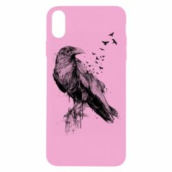 Чохол для iPhone X/Xs A pack of ravens