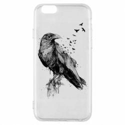 Чохол для iPhone 6/6S A pack of ravens