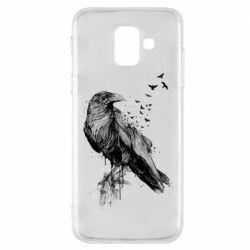 Чохол для Samsung A6 2018 A pack of ravens