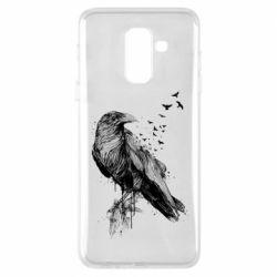 Чохол для Samsung A6+ 2018 A pack of ravens