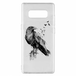 Чохол для Samsung Note 8 A pack of ravens