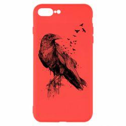 Чохол для iPhone 8 Plus A pack of ravens
