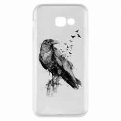 Чохол для Samsung A5 2017 A pack of ravens