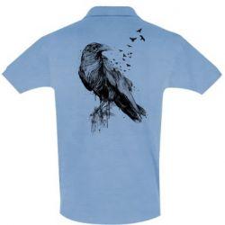 Футболка Поло A pack of ravens