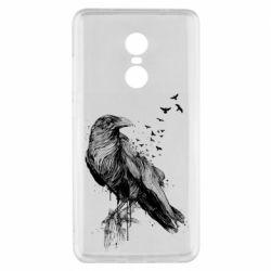 Чохол для Xiaomi Redmi Note 4x A pack of ravens