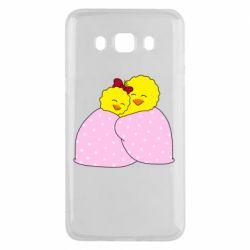 Чехол для Samsung J5 2016 A pair of chickens and a blanket