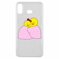 Чехол для Samsung A6s A pair of chickens and a blanket
