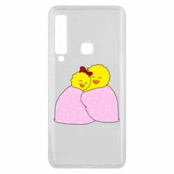 Чехол для Samsung A9 2018 A pair of chickens and a blanket
