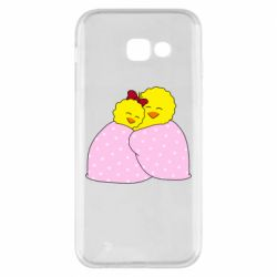 Чехол для Samsung A5 2017 A pair of chickens and a blanket