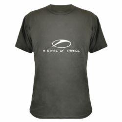Камуфляжна футболка A state of trance