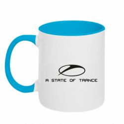 Кружка двоколірна 320ml A state of trance