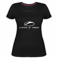 Жіноча стрейчева футболка A state of trance