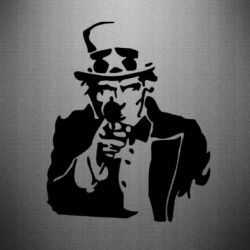 Наклейка А ты? (uncle Sam)