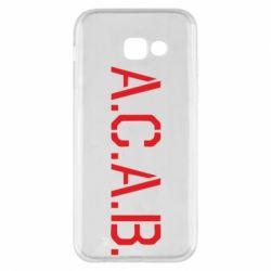 Чохол для Samsung A5 2017 A.C.A.B.