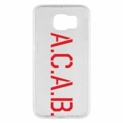 Чохол для Samsung S6 A.C.A.B.