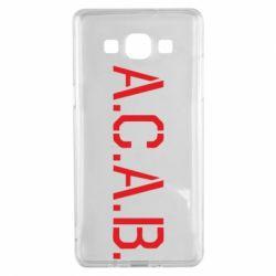 Чохол для Samsung A5 2015 A.C.A.B.