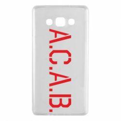 Чохол для Samsung A7 2015 A.C.A.B.