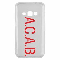 Чохол для Samsung J1 2016 A.C.A.B.