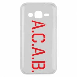 Чохол для Samsung J2 2015 A.C.A.B.