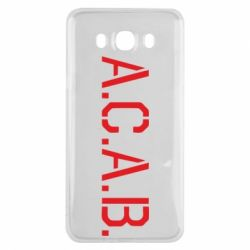 Чохол для Samsung J7 2016 A.C.A.B.