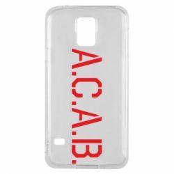 Чохол для Samsung S5 A.C.A.B.