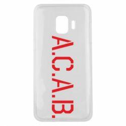 Чохол для Samsung J2 Core A.C.A.B.