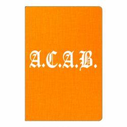 Блокнот А5 A.C.A.B