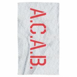 Рушник A.C.A.B.