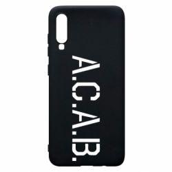 Чохол для Samsung A70 A.C.A.B.