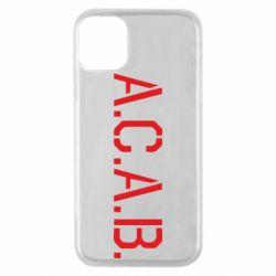 Чохол для iPhone 11 Pro A.C.A.B.