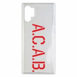 Чохол для Samsung Note 10 Plus A.C.A.B.