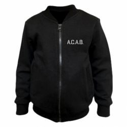 Дитячий бомбер A.C.A.B.