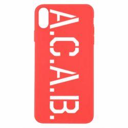 Чохол для iPhone X/Xs A.C.A.B.