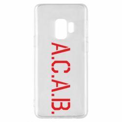 Чохол для Samsung S9 A.C.A.B.