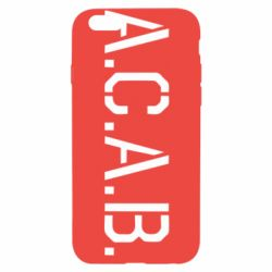 Чохол для iPhone 6/6S A.C.A.B.