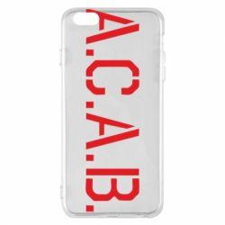 Чохол для iPhone 6 Plus/6S Plus A.C.A.B.